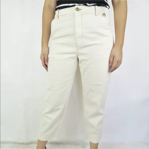 Madewell Womens Tapered Leg Ankle Jeans High Waist